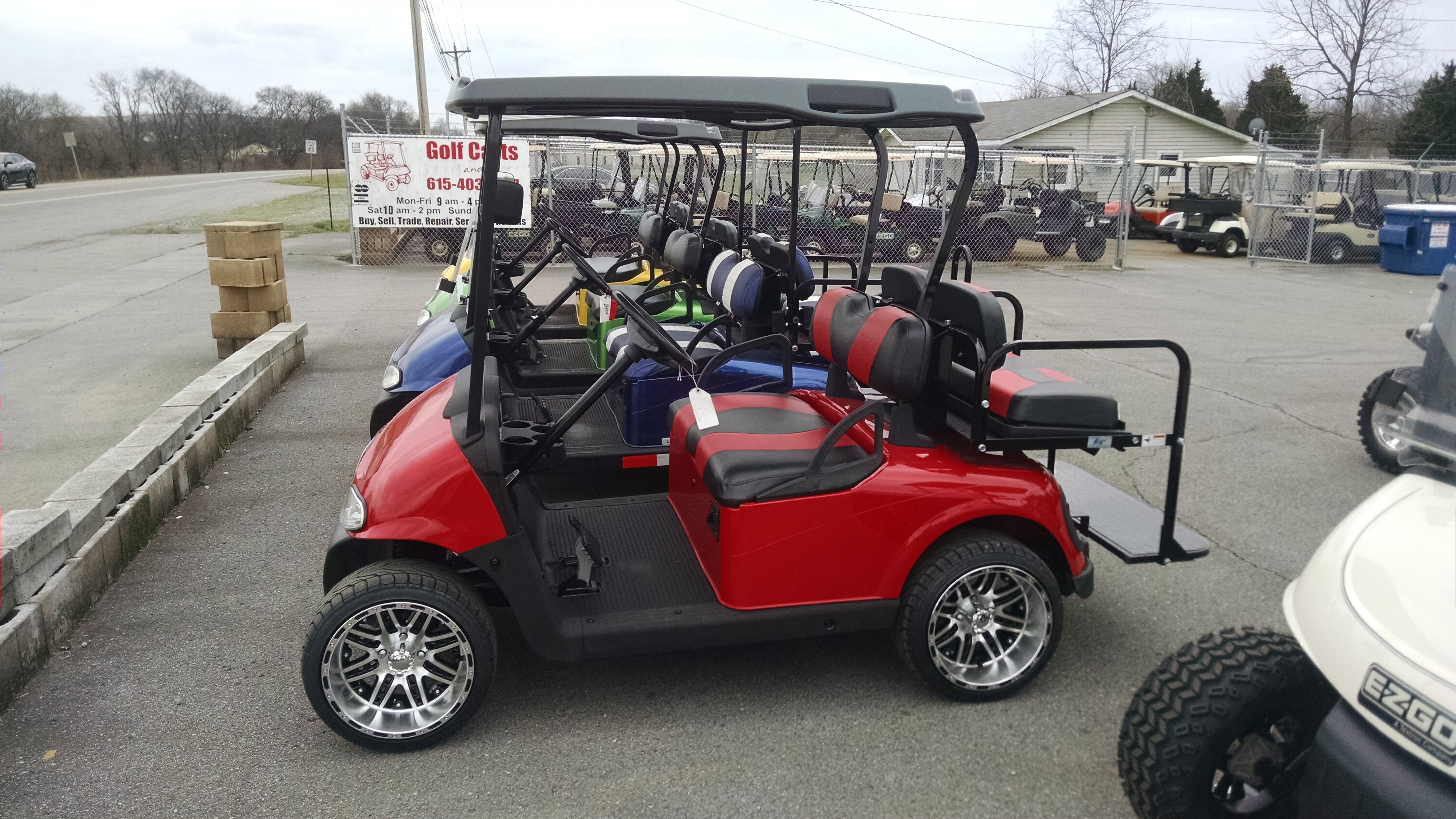 Golf Carts, Murfreesboro and Nashville, Tennessee Call Today ... on